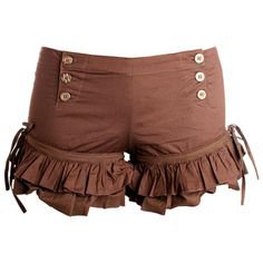 Five and Diamond Brown Shorts