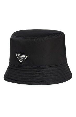 Prada Tessuto Triangolo Nylon Bucket Hat | Nordstrom