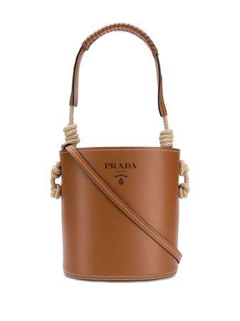 Prada cord detail bucket bag