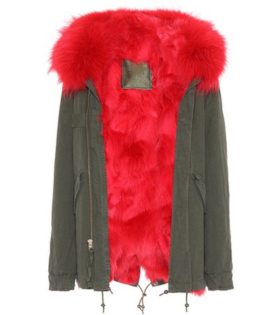 Exclusive to mytheresa.com – London fur-trimmed parka
