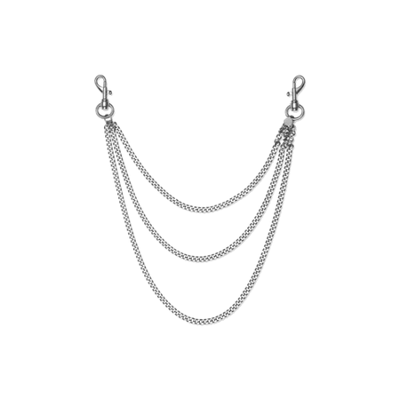 """ALYX """"Necklace with Chain"""" Silver – ARCHIVES"""