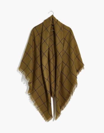 Buffalo Check Blanket Scarf