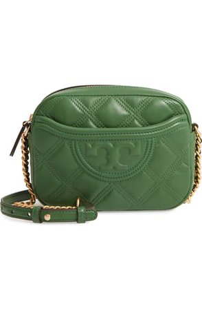 Tory Burch Fleming Quilted Leather Camera Bag | Nordstrom