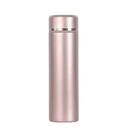 Amazon.com: 18/10 Stainless Steel Thermos Water Bottle 17oz Leakproof Lid Vacuum Insulation Travel Mug Keeps Cold for 12 Hours, Hot for 24 Hours (Rose Gold): Kitchen & Dining