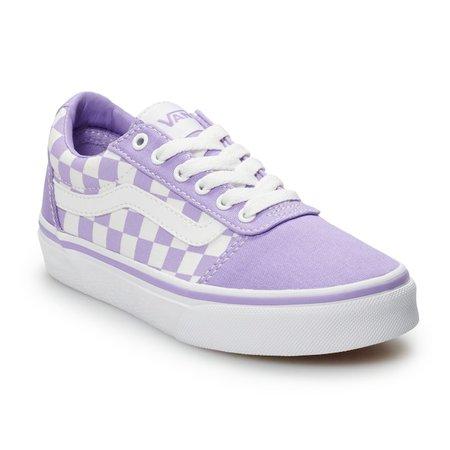 Vans Ward Girls' Checkered Skate Shoes   Kohls