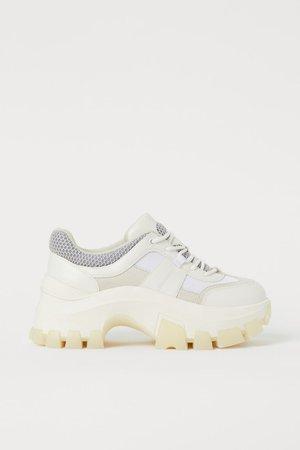 Chunky trainers - White - Ladies | H&M GB