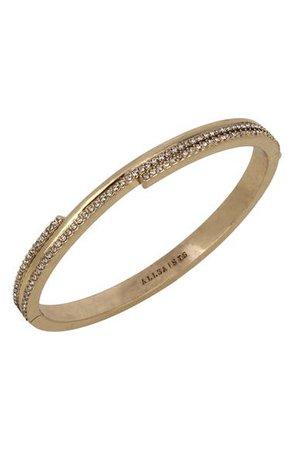 AllSaints Crystal Hinge Bracelet | Nordstrom