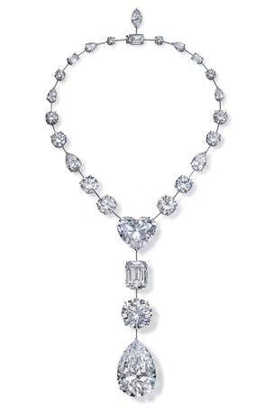 Graff, Multi-Shape diamond necklace