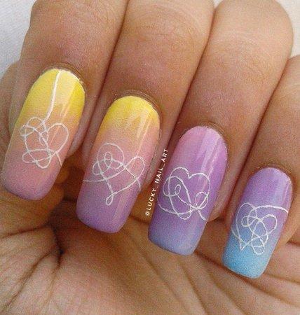 BTS inspired nails