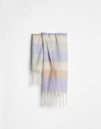 Multicolored scarf - NEW - Woman | Bershka