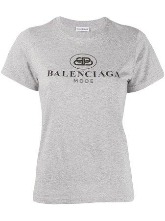 Balenciaga Kortärmad Inpassad t-shirt - Farfetch