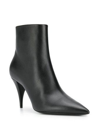 Saint Laurent pointed-toe Ankle Boots - Farfetch