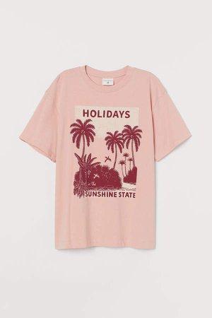 Cotton T-shirt - Orange