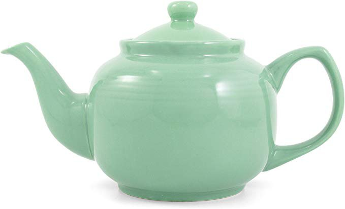 Old Amsterdam Porcelain Works-Seafoam Green Classic 6 Cup Ceramic Teapot: Amazon.ca: Home & Kitchen