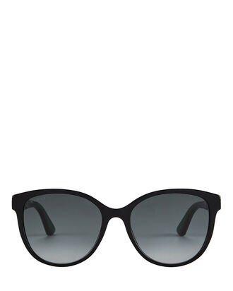 Gucci Oversized Cat Eye Sunglasses | INTERMIX®