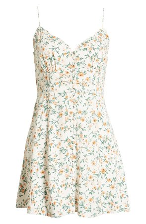 Floral Minidress | Nordstrom