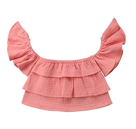 Amazon.com: 2017 Baby Girls Off Shoulder Boho Print Floral Blouse Top + Bandage Headband Outfit Set (1-2 Years, Colored): Clothing