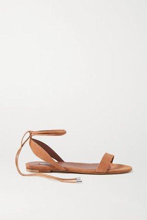 Tabitha Simmons | Amii suede sandals | NET-A-PORTER.COM