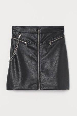 Skirt - Black - Ladies | H&M US