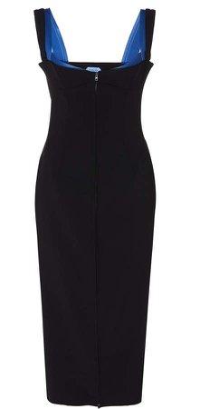 Sweetheart Neckline Midi Dress Size: 34