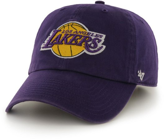 Clean Up LA Lakers Baseball Cap