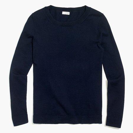 J.Crew Factory: Cotton Teddie Sweater For Women