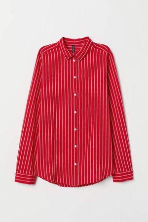 Cotton Shirt - Red