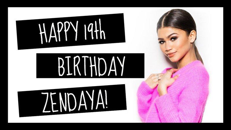 zendaya happy birthday - Google Search