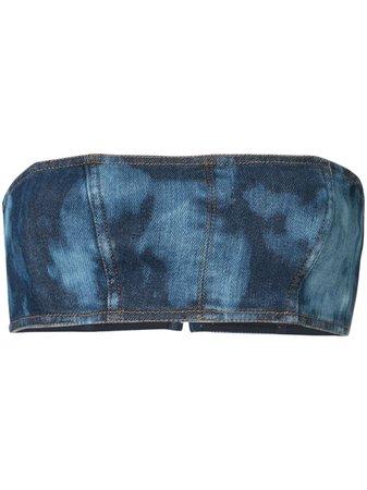 Manning Cartell Tie-Dye Crop Top | Farfetch.com