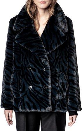 Miller Tigre Faux Fur Jacket