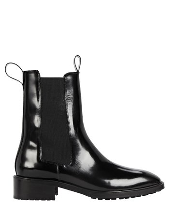 Aeyde Simone Leather Chelsea Ankle Boots | INTERMIX®