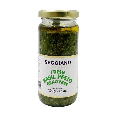 Fresh Basil Pesto, 7.1 oz, Seggiano   Whole Foods Market