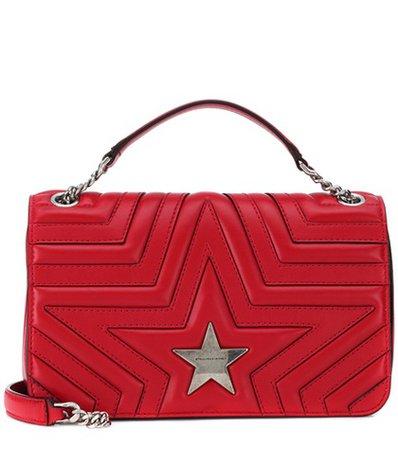 Stella Star leather shoulder bag