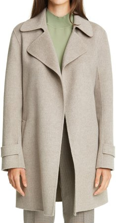 Oaklane Wool & Cashmere Trench Coat