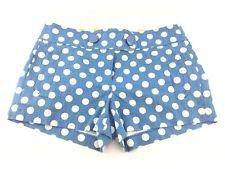 Blue & White Polka Dot Shorts