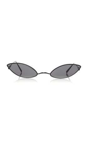 Astaria Gunmetal-Tone Sunglasses by Acne Studios   Moda Operandi