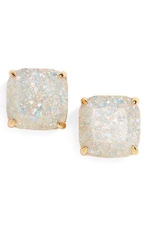 kate spade new york glitter stud earrings | Nordstrom