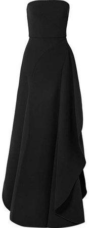 Asymmetric Cady Gown - Black