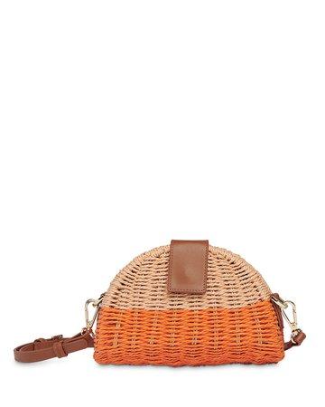 Whistles Leo Mini Woven Crossbody Bag | Bloomingdale's