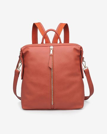 Urban Expressions Kenzie Pebbled Vegan Leather Backpack