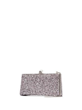 Jimmy Choo Celeste Glittered Clutch - Farfetch