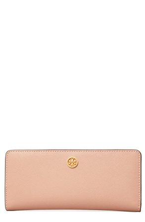 Tory Burch Robinson Slim Leather Wallet | Nordstrom