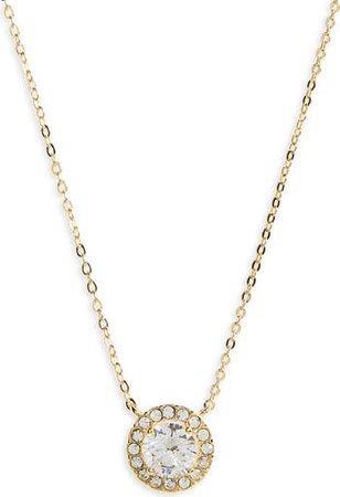 Cubic Zirconia Pendant Necklace | Nordstrom