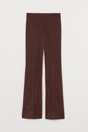 Glittery Pants - Purple