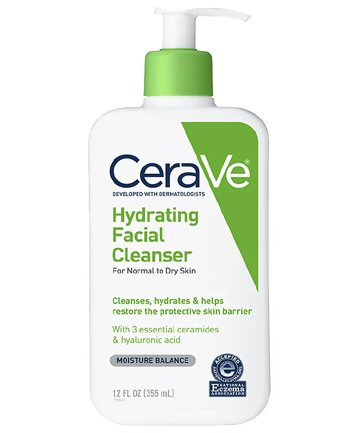 CeraVe Hydrating Facial Cleanser, $11.99, 10 Hyaluronic Acid Products for Your Dewiest Skin Yet - (Page 5)