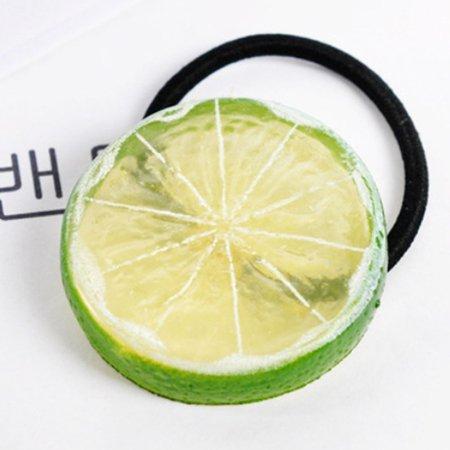 Lime Slice Hair Ties