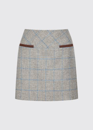 Clover Tweed Mini Skirt | Dubarry of Ireland