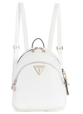 White Mini Backpack