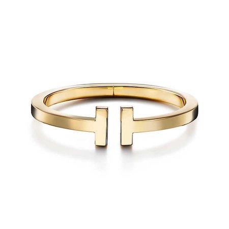 18K Gold Tiffany T Square Bracelet | Tiffany & Co.