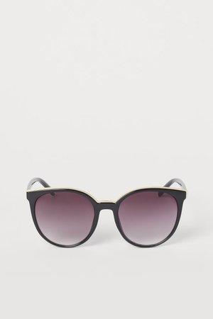 Lunettes de soleil - Noir - FEMME   H&M FR